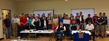 VFW Post 688 celebrates Flag Day and the birthday of the US Army. We presented the Department of Texas Scout of the Year award to Hunter Beaton! We are extremely proud of Eagle Scout Beaton!