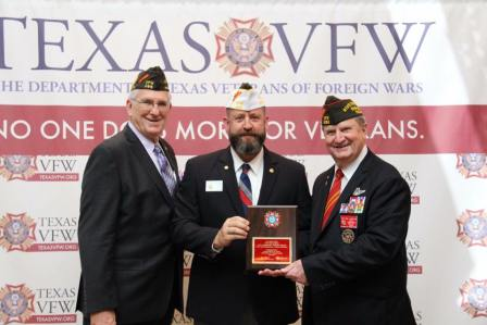 VFW Post 688 just received All State Post honors at the 97th Department of Texas VFW Convention!