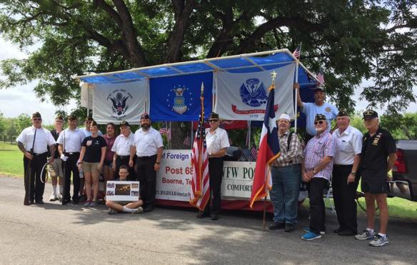 The Comfort Independence Day parade July 1, 2017