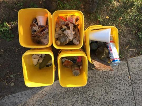 clean up trash