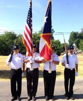 color guard July 4th