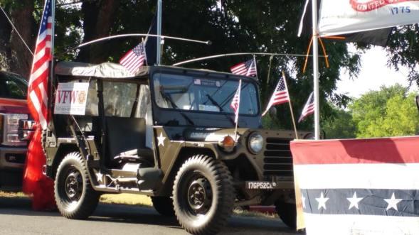 parade july 4th jeep