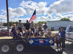 Local Boy Scout Float